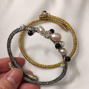 Jewelry - Pair of Florentine 🇮🇹 handmade bracelet
